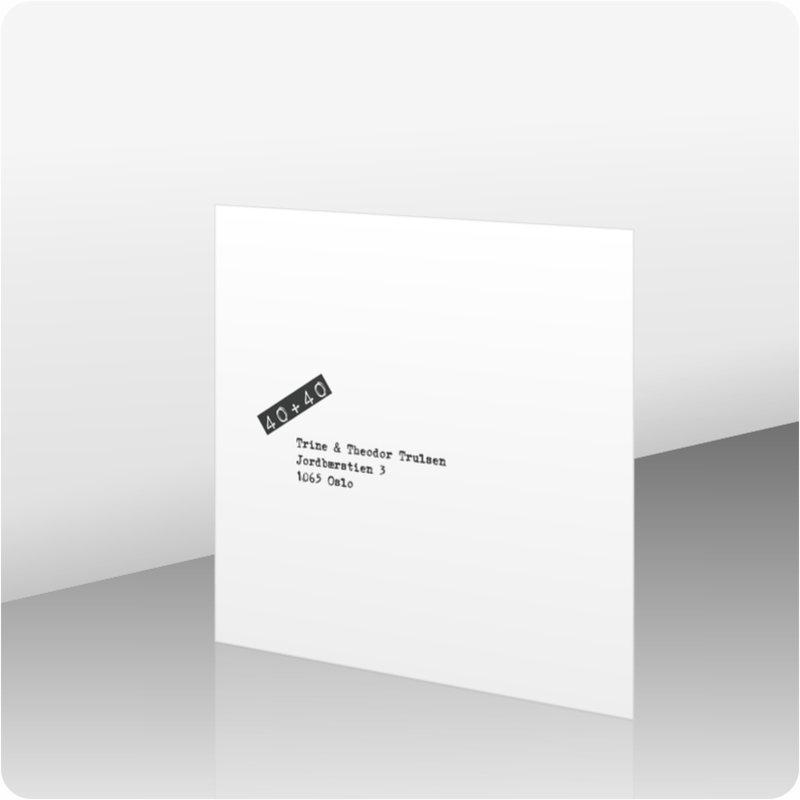 invitasjon fest kortshop produkter invitasjon fest a00441. Black Bedroom Furniture Sets. Home Design Ideas